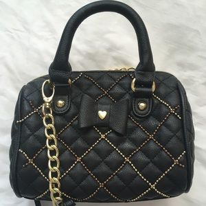 AUTHENTIC Betsey Johnson miniature hand bag